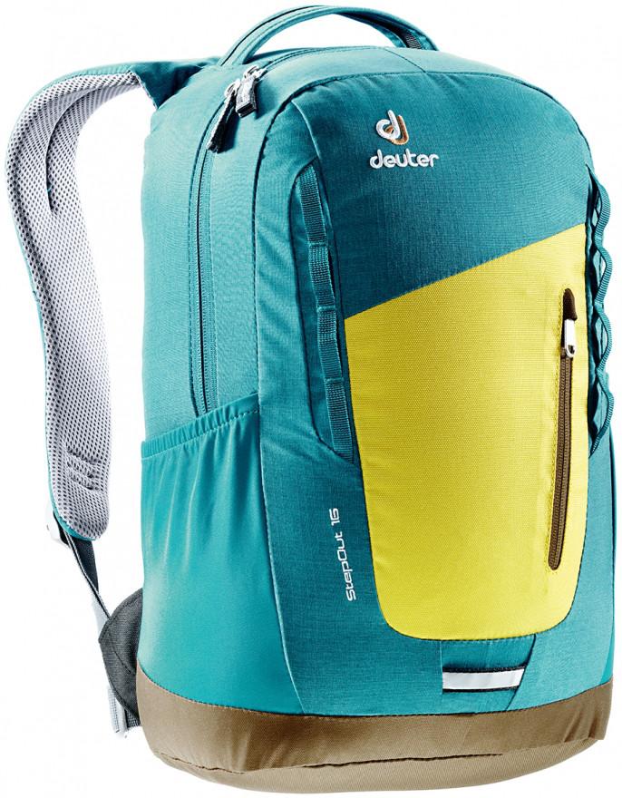 Городской рюкзак Deuter StepOut 16 neon-petrol (3810315 8304)