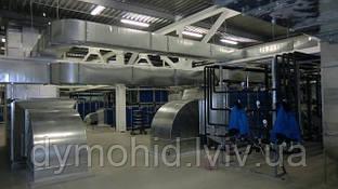 Завдання системи промислової вентиляції та проектування її