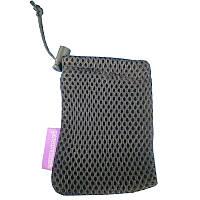 ✸Чехол для смарт-часов Lesko Black тканевый для хранения и защиты от повреждения фитнес часов браслетов