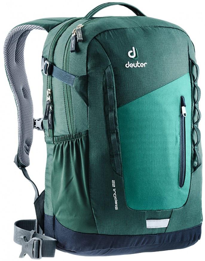 Городской рюкзак Deuter StepOut 22 alpine green-forest (3810415 2231)
