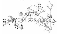 Дополнительная передача II - повышенние и пониженние передач (опция) на YTO-X704