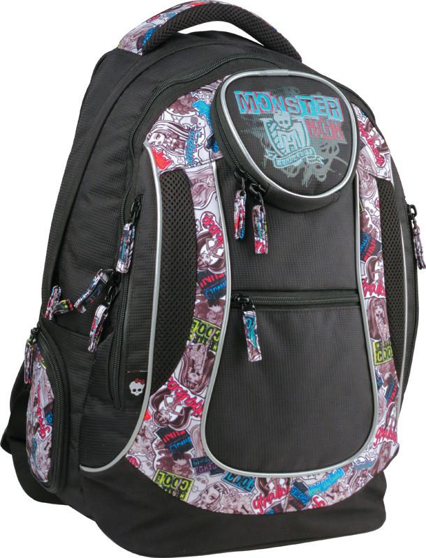 Рюкзак школьный KITE Monster High 804 (4-7 класс)