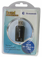 Звуковой адаптер 3D Sound (5.1) USB-SoundCard 2.0