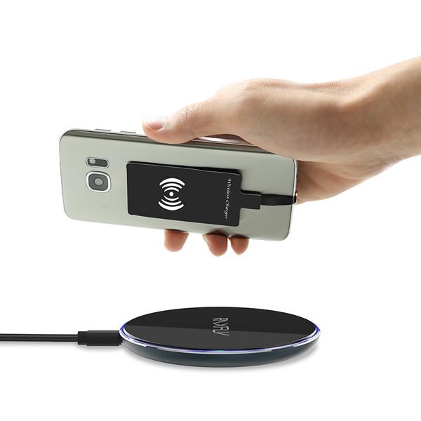 RAXFLY Qi Беспроводное зарядное устройство Micro USB Приемник Адаптер для планшета мобильного телефона 1TopShop