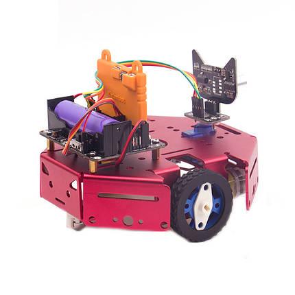 DIY Robotbit Patrol Line Предотвращение препятствий Smart Robot Авто Набор С Microbit Expanding Board, фото 2