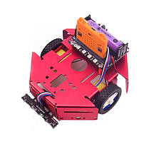 DIY Robotbit Patrol Line Предотвращение препятствий Smart Robot Авто Набор С Microbit Expanding Board, фото 3