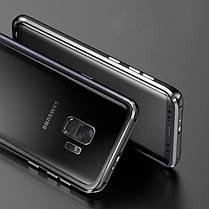 LuphieМеталлическийбампер+9HПрозрачный закаленное стекло Shell Защитный Чехол Для Samsung GalaxyS9Plus, фото 2