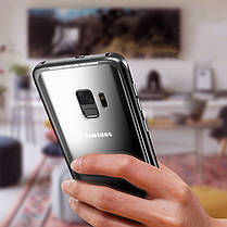 LuphieМеталлическийбампер+9HПрозрачный закаленное стекло Shell Защитный Чехол Для Samsung GalaxyS9Plus, фото 3