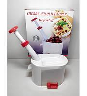 Вишнечистка HelferHoff, прибор для удаление косточек из вишен и оливок