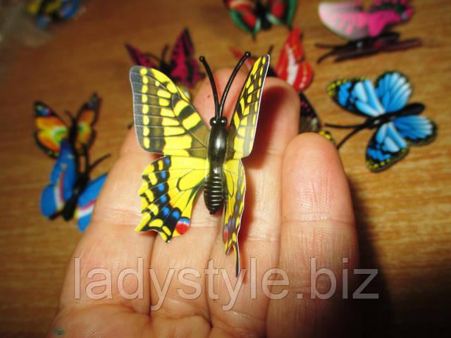магнит украшение интерьера купить бабочку сувенир ночник