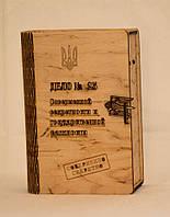 Коробка для вина из дерева ручной работы