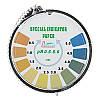 Прецизионные тест-полоски для теста PH с коротким диапазоном 0.5-5.0 Индикаторная бумага для тестера Диспенсер Цветная диаграмма 5 м / 16.4 фута