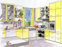 """Дизайн кухни - советы от дизайнера для """"Уютной квартиры"""""""