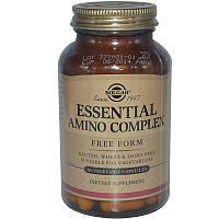 Аминокислотный комплекс, Essential Amino Complex, Solgar, 90 капсул