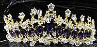 Роскошные тиары и короны для свадебной причёски. Свадебная бижутерия для невест оптом. 40