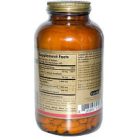 Глюкозамин, Glucosamine Chondroitin MSM, Solgar, 180 таб