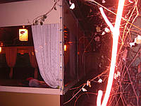 "Тент летней площадки ресторана ""Золотой Шафран"", Киев, фото 1"