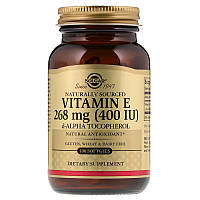 Витамин Е, Solgar, 400 МЕ, 100 капсул