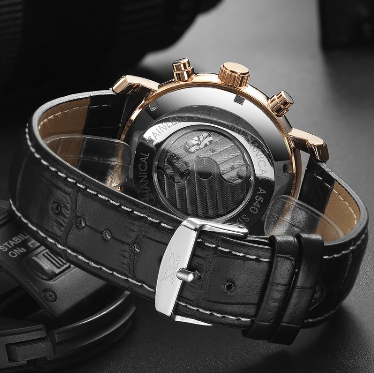 7adfe3dd ... Элитные механические часы с автоподзаводом Jaragar Turboulion Star /  ГАРАНТИЯ, ...