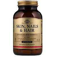 Solgar, Кожа, ногти и волосы, улучшенная Мсм формула, 120 таблеток