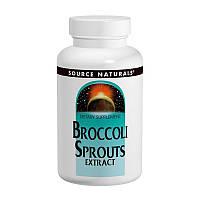 Экстракт брокколи, Source Naturals, 60 таблеток
