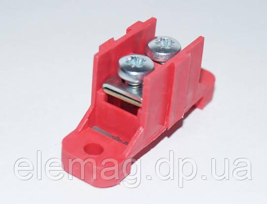 Клеммная колодка 1х10 мм² наборная