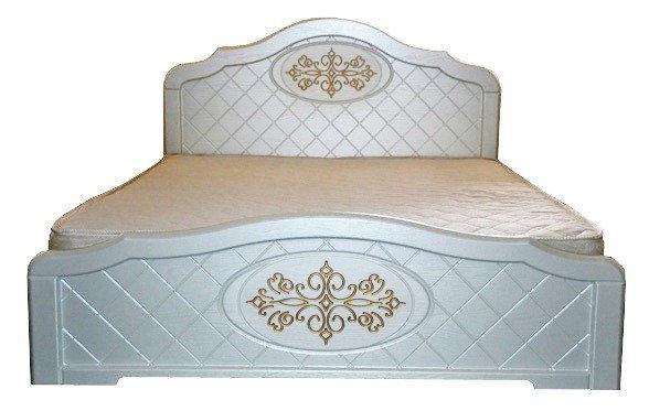 Ліжко з ДСП/МДФ в спальню Лючія 140*200 Неман