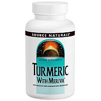 Куркумин, Meriva Turmeric Complex, Source Naturals, 500 мг, 120 капсул