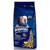 Brekkies Cat DELICE Fish -  корм для взрослых кошек (рыба)