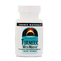 Куркумин, Meriva Turmeric Complex, Source Naturals, 500 мг, 30 таблеток