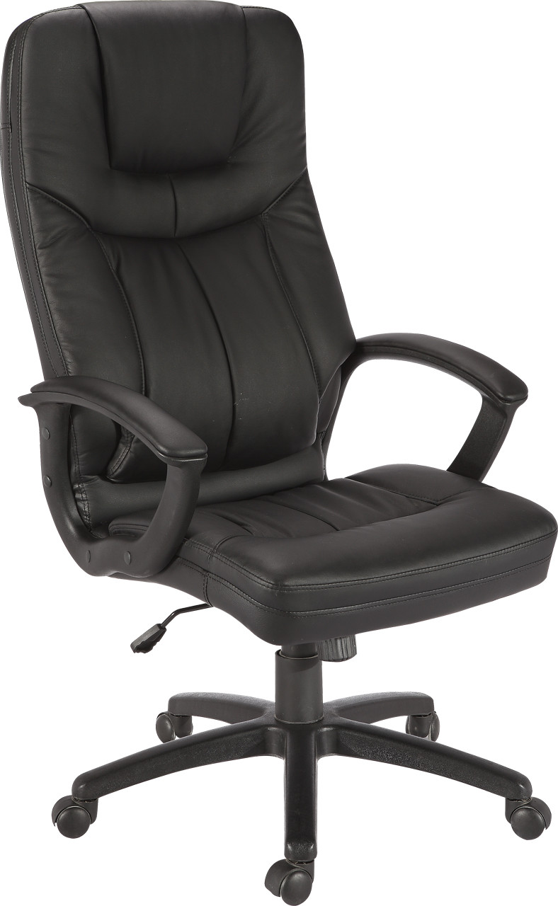 Кресло Дорсет кожзаменитель Чёрный.
