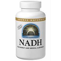 Никотинамидадениндинуклеотид, NADH, Source Naturals, 10 мг, 10 таблеток