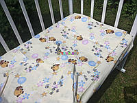 Постельный набор в детскую кроватку (3 предмета) Винни Пух Бежевый, фото 1