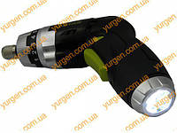 Отвёртка аккумуляторная с фонарем ТИТАН PAO 3,6L SET
