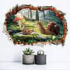 Miico3DТворческийПВХстенынаклейки Главная Декор Mural Art Съемные стикеры Декор улиток