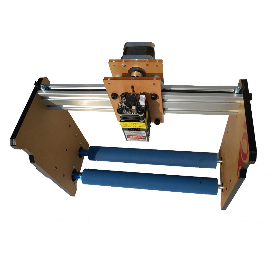 Rotary 2500mW Лазер Гравировочная машина Круглый цилиндр Колонка Объект DIY Лазер Гравировальный принтер 1TopShop