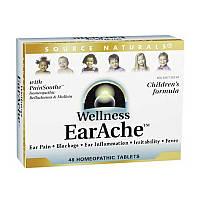 Source Naturals, Wellness, от боли в ушах, 48 гомеопатических таблеток