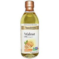 Spectrum Naturals, Масло грецкого ореха, рафинированное, 16 жидких унций (473 мл)