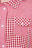Рубашка из натуральной, хлопковой ткани Аленушка Разные цвета, фото 4