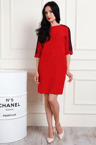 7b25195f8be Оригинальное платье прямого покроя с отделкой кружевом  продажа ...