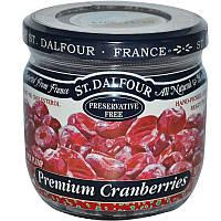 Клюква, Super Plump Premium Cranberries, St. Dalfour, 200 г