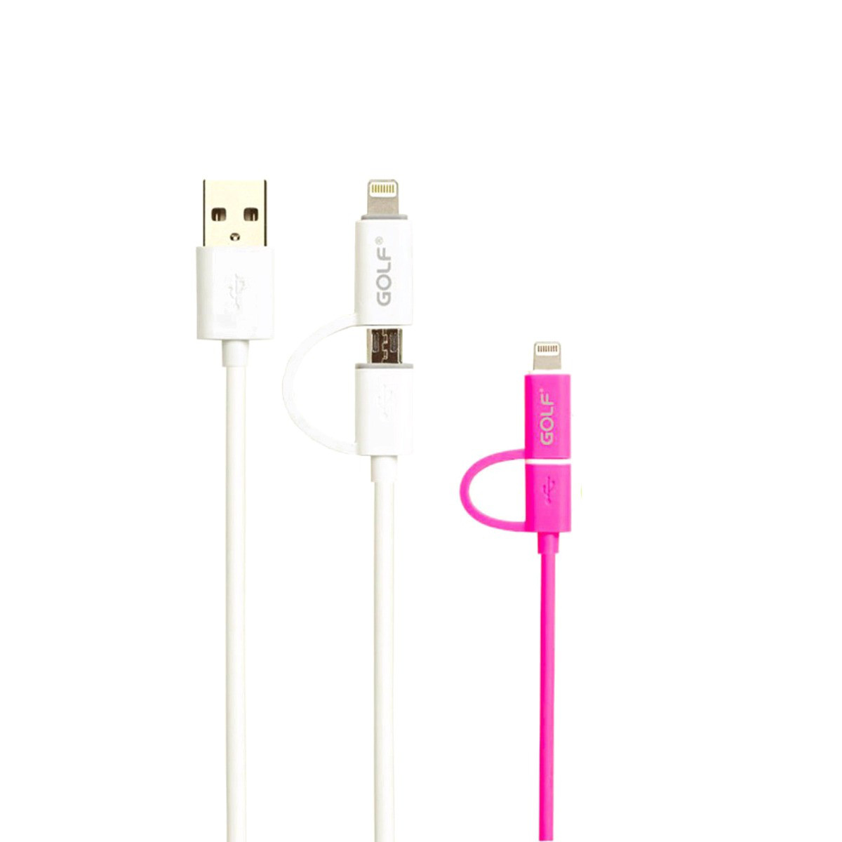 Кабель GOLF GC-20 iphone micro-USB