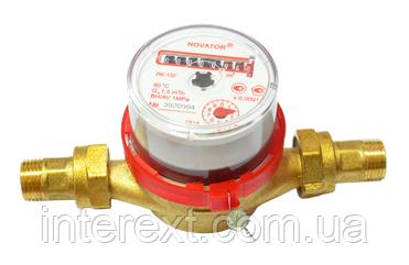 Счётчик горячей воды Новатор (Украина) ЛК-15Г Ду15