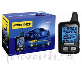 888W1 LCD Сигнализация, STEELMATE