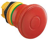 Механизм грибовидной стоповой кнопки возврат вытягиванием 40 мм LPC B6744
