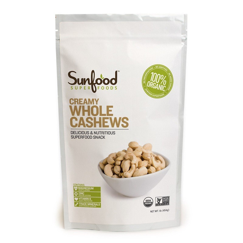 Sunfood, Cashews, 1 lb