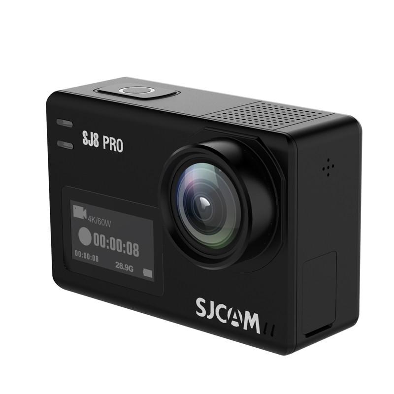 SJCAMSJ8PRO4K60кадров в секунду Действие камера Dual Screen Sport камера DV EIS WiFi Ambarella H22 Набор микросхем 1TopShop