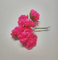 Цветок Эустома ярко розовая