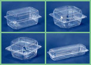 Пластиковая упаковка для пищевых продуктов и полуфабрикатов