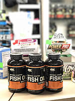 Омега Optimum Nutrition Enteric Coated Fish Oil 200 caps рыбий жир рыбный жир omega 3